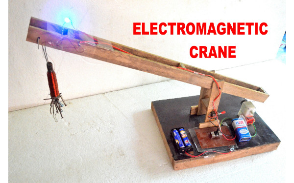 ELECTROMAGNETIC CRANE